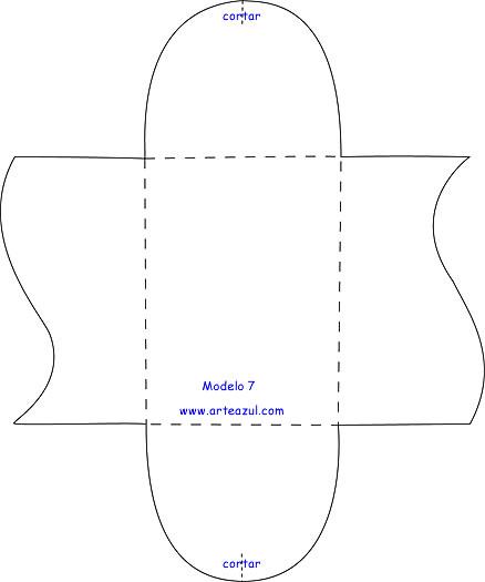 Moldes para hacer cajitas de cartulina faciles - Imagui